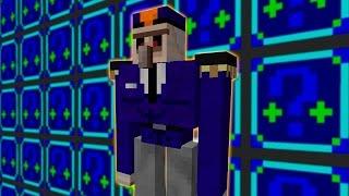 Minecraft: LUCKY BLOCKS NIGHT | POLICE GOLEM!! | Desafío de la Suerte Especial - #92