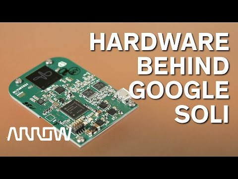 Infineon Showcases the Radar Board used in Google's Project