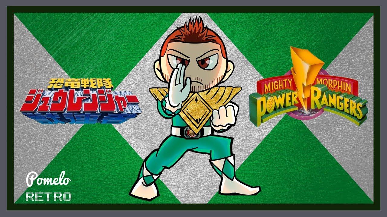 Power Rangers Season 1 vs Kyōryū Sentai Zyuranger - What's the difference?  | Pomelo Retro