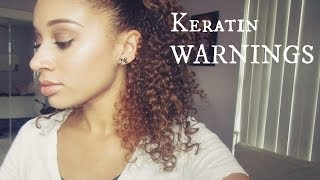 Keratin Treatment Warnings