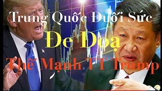 Gambar cover Trung Quốc Đuối Sức Đe Doạ Sức Mạnh Tổng Thống Mỹ Donald Trump | DVS Vlog