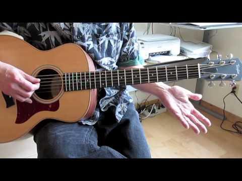 "Guitar Lesson: Beatles ""Norwegian Wood"" (Easy Version)"