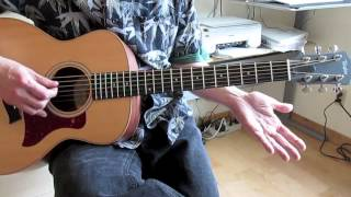 "Guitar Lesson: Beatles ""Norwegian Wood"" (Easy Version)"