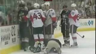 Andy Sutton DESTROYS Jordan Leopold [4/16/2010]