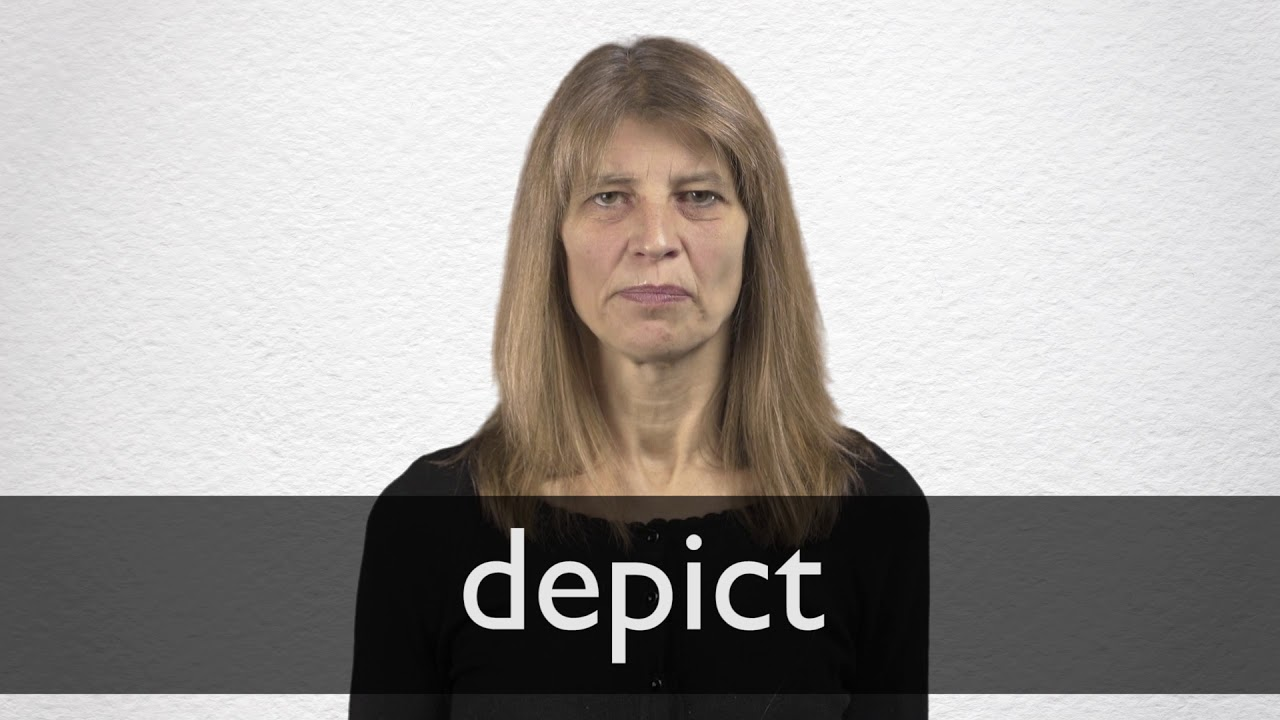 How to pronounce DEPICT in British English