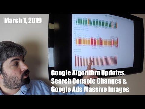 Google Algorithm Updates, New Property Sets & Goodbye Average Position
