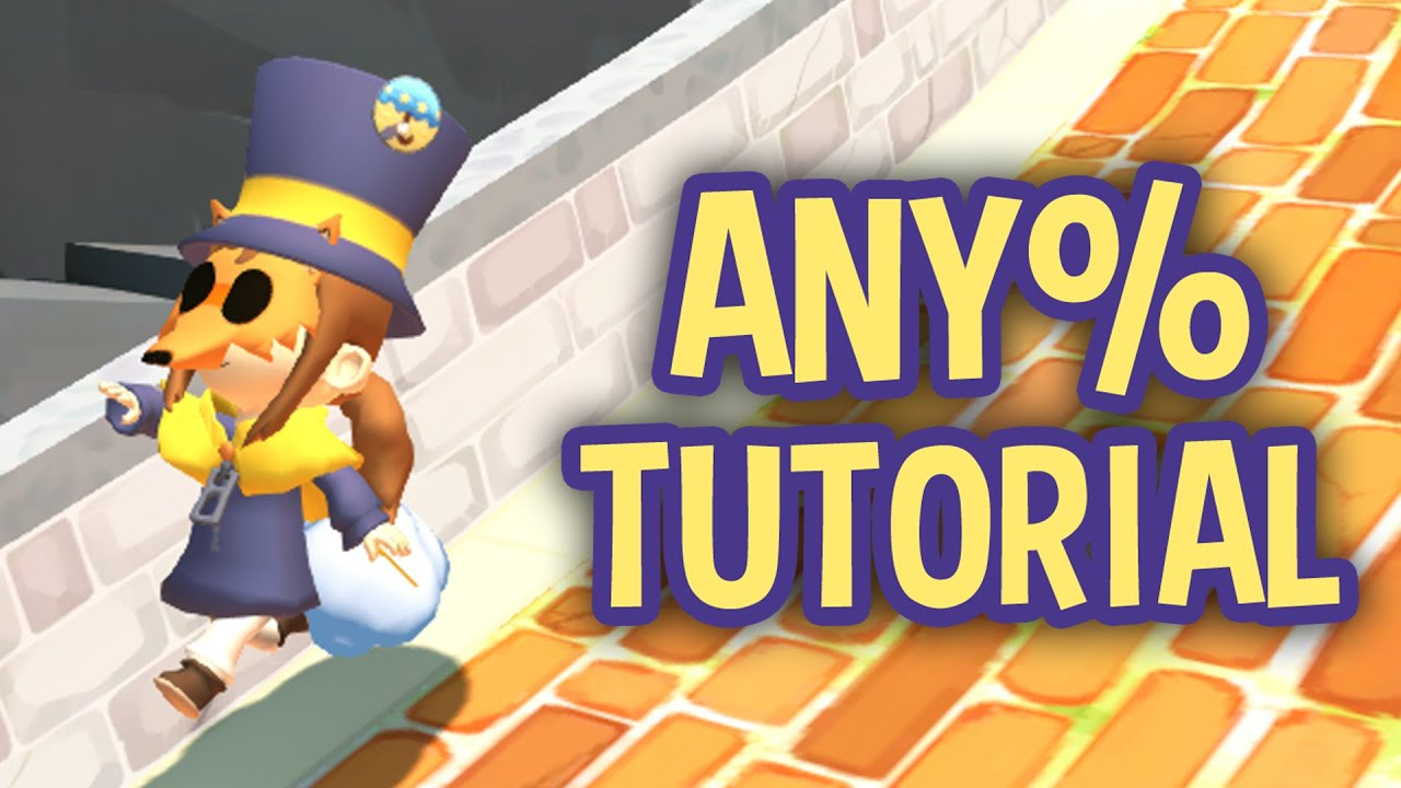 Hat in time speedrun tutorial