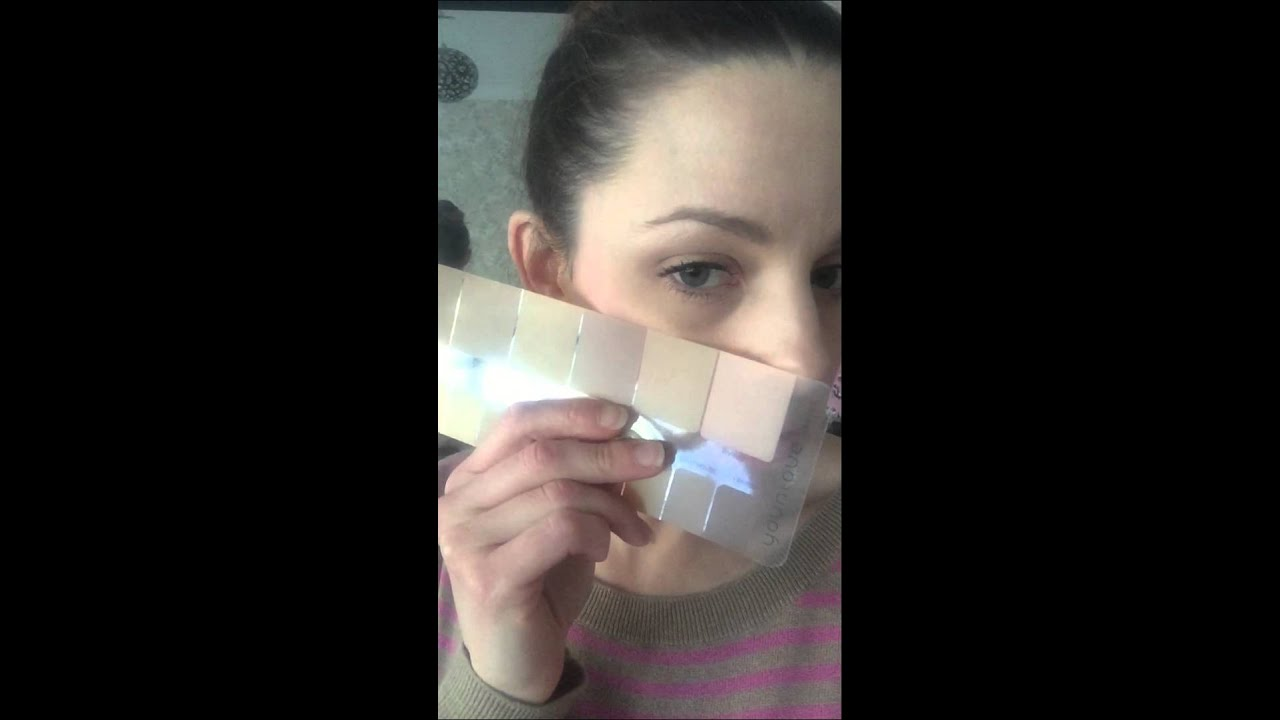 How To Use Your Younique Foundation Colour Match Chart Shade Stick