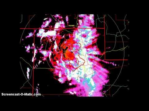 Intense HAARP Activity- Salt Lake City Utah