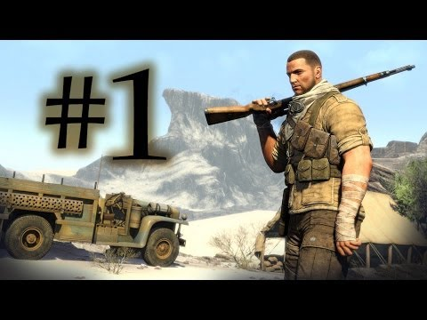 Sniper Elite 3 / Türkçe Oynanış Bölüm 1 / Afrika [HD]