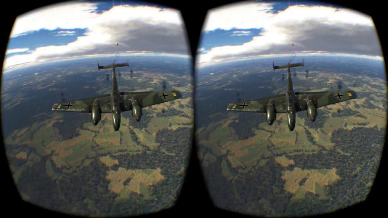 War Thunder on Oculus Rift CV1, Simulator Difficulty (Google Cardboard)