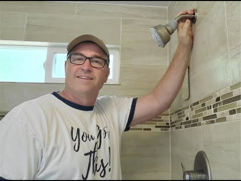 How to change a shower head.