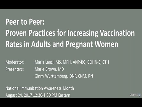 Proven Practices For Increasing Vaccine Rates In Adults And Pregnant Women