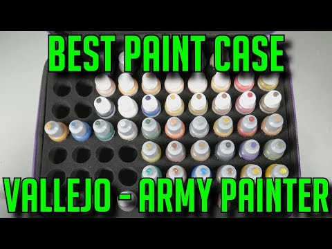Best Cheap Paint Case For Vallejo - Army Painter - Mig Paints