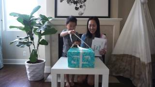 Toddler Unboxing | New Pampers Easy Ups for Stress Free Underwear Training