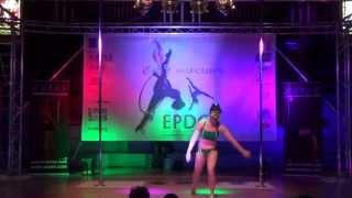 Nadine Parkes - Expert Pole - Emma's Pole Dancing Championship 2014