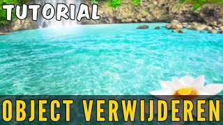 Photoshop Tutorial: Removing Unwanted Objects (Dutch Objecten Verwijderen uit Foto) #1