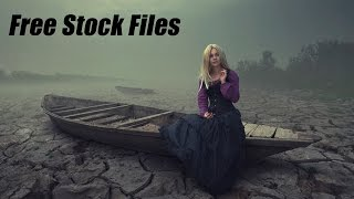 Dry Land Photoshop Manipulation Tutorial | Fantasy Photo Effects