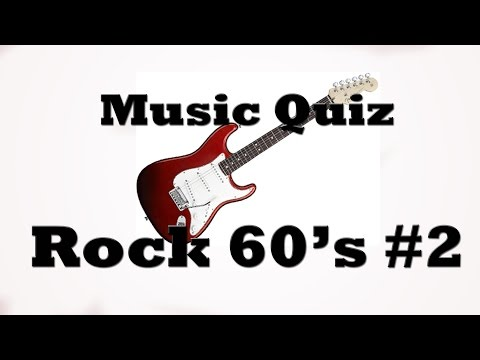 Music Quiz  Rock 60s #2