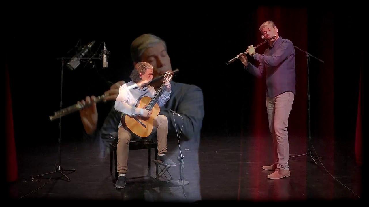 Duo Confluence - Scherzo Vivace de Mauro Giuliani (extrait de Grande Sonate Op.85)