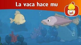 La vaca hace mu- El pez, Luli TV