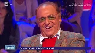 Intervista a Renzo Arbore (Prima parte) - La vita in diretta 13/12/2017