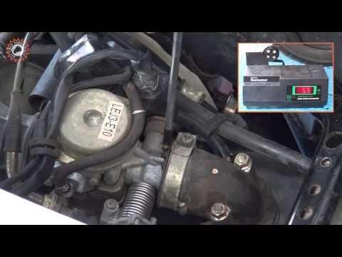 Ρύθμιση μείγματος ρελαντί (Pilot screw adjustment)