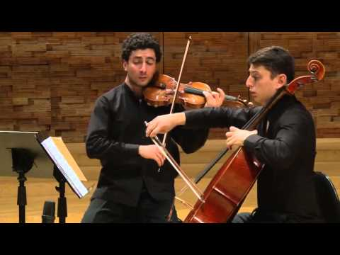 Sergey Khachatryan, Narek Hakhnazaryan & Lusine Khachatryan play Komitas - The Sky Is Cloudy