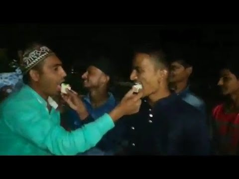 Davangere Boys Shaik Mubarak Happy Birthday Party