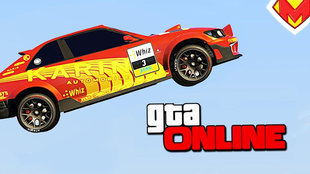 ГОНКА ОТ ПОДПИСЧИКА (ГОНКИ В GTA 5 ONLINE) — МУЕ - YouTube