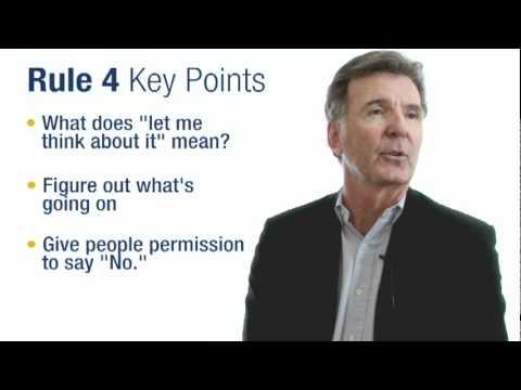 Sales Tips: Sandler Rule No. 4 - Gary Harvey