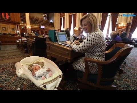 Baby in the House: Iowa Legislature welcomes its newest (and smallest) member