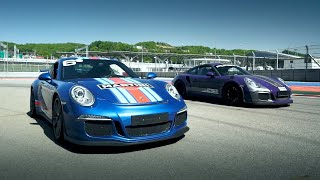 Porsche - борьба за время