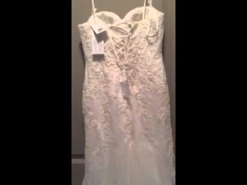 Galina signature swg690 wedding dress youtube galina signature swg690 wedding dress junglespirit Images