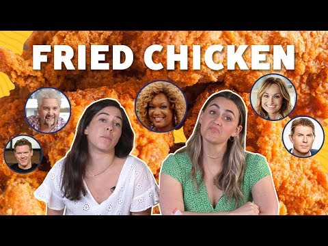 FN Chefs' Fried Chicken Recipes RANKED ? TASTE TEST