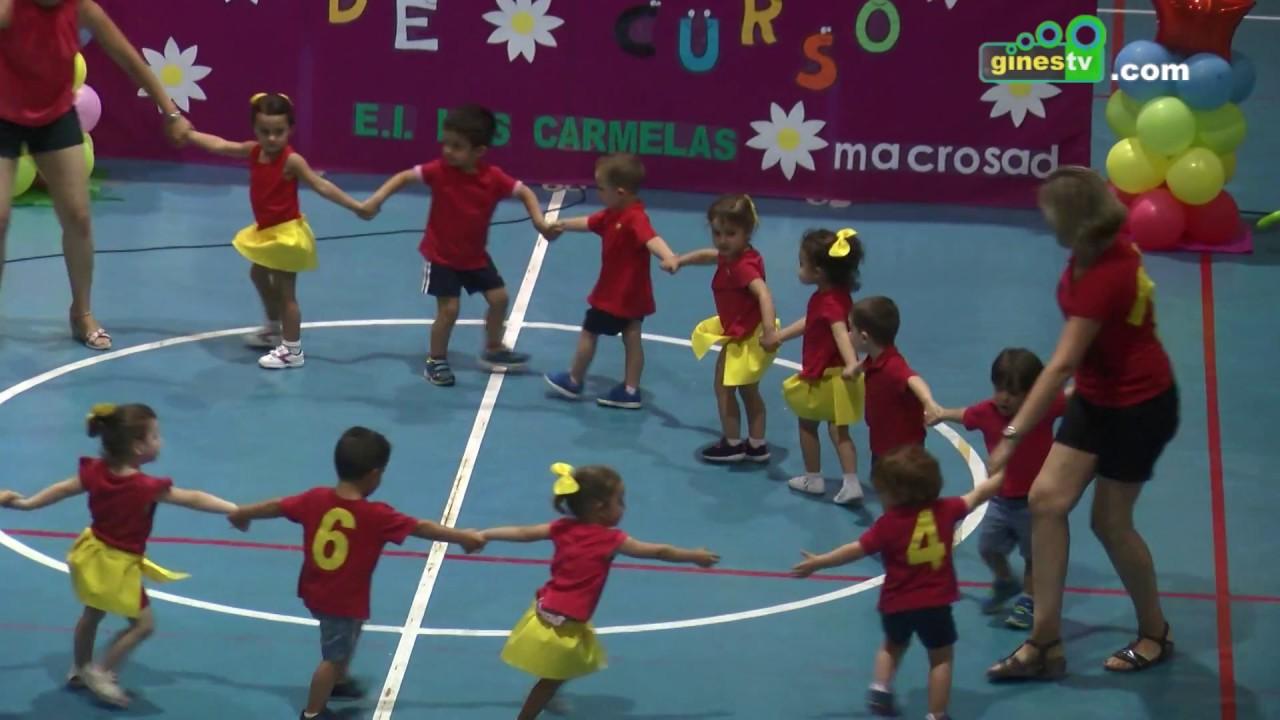 Fiesta de fin de curso del Centro Municipal de Educación Infantil 'Las Carmelas' de Gines 2017