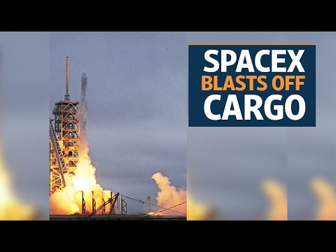 SpaceX blasts off cargo from historic NASA launchpad on Sunday