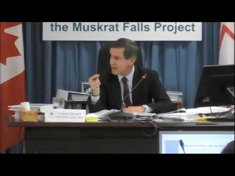 Commissioner LeBlanc at Muskrat Falls Inquiry   Dec 12, 2018