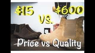 CHELSEA BOOTS!: Price vs Quality, Thursday Boots, Common Projects, Ugg