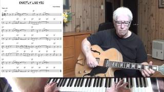 Exactly Like You - Jazz guitar & piano cover ( Jimmy McHugh ) Yvan Jacques