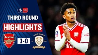 Download Gunners Survive Leeds Threat with Nelson on Target | Arsenal 1-0 Leeds  | Emirates FA Cup 19/20