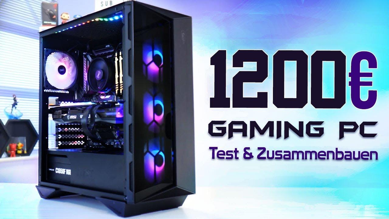 Bester 1000€ - 1200€ Euro GAMING PC 2021! - Test & Zusammenbauen