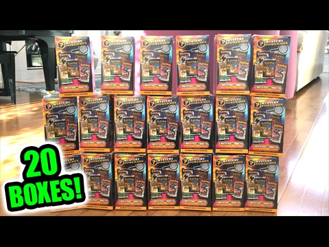 OPENING 100 POKEMON CARD BOOSTER PACKS FROM 20 MYSTERY POWER BOXES! PART 2