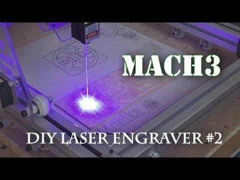 Banggood DIY Laser engraver 2500mW Mach3 #2