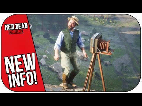 Red Dead Online: PHOTOGRAPHY ROLE Update! New Details!
