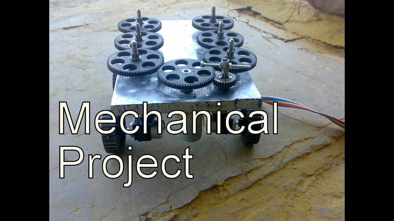 Mechanical Engineering Project 4 Wheel Steering 4 Wheel