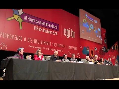 [VI Fórum da Internet no Brasil] Trilha 1: Universalização e Inclusão Digital (1/2)
