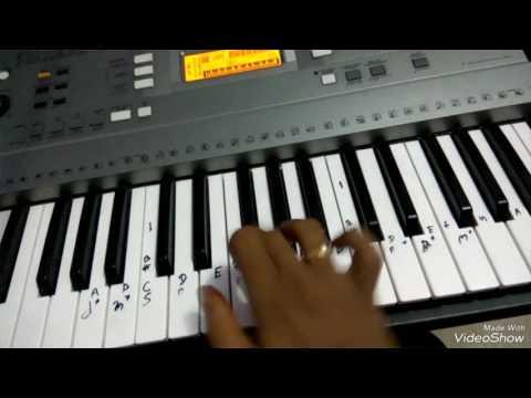 Dil diya hai jaan bhi denge..piano karma tutorials
