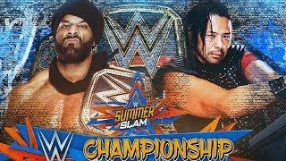 Jinder Mahal VS Nakamura - WWE SummeSlam 2017