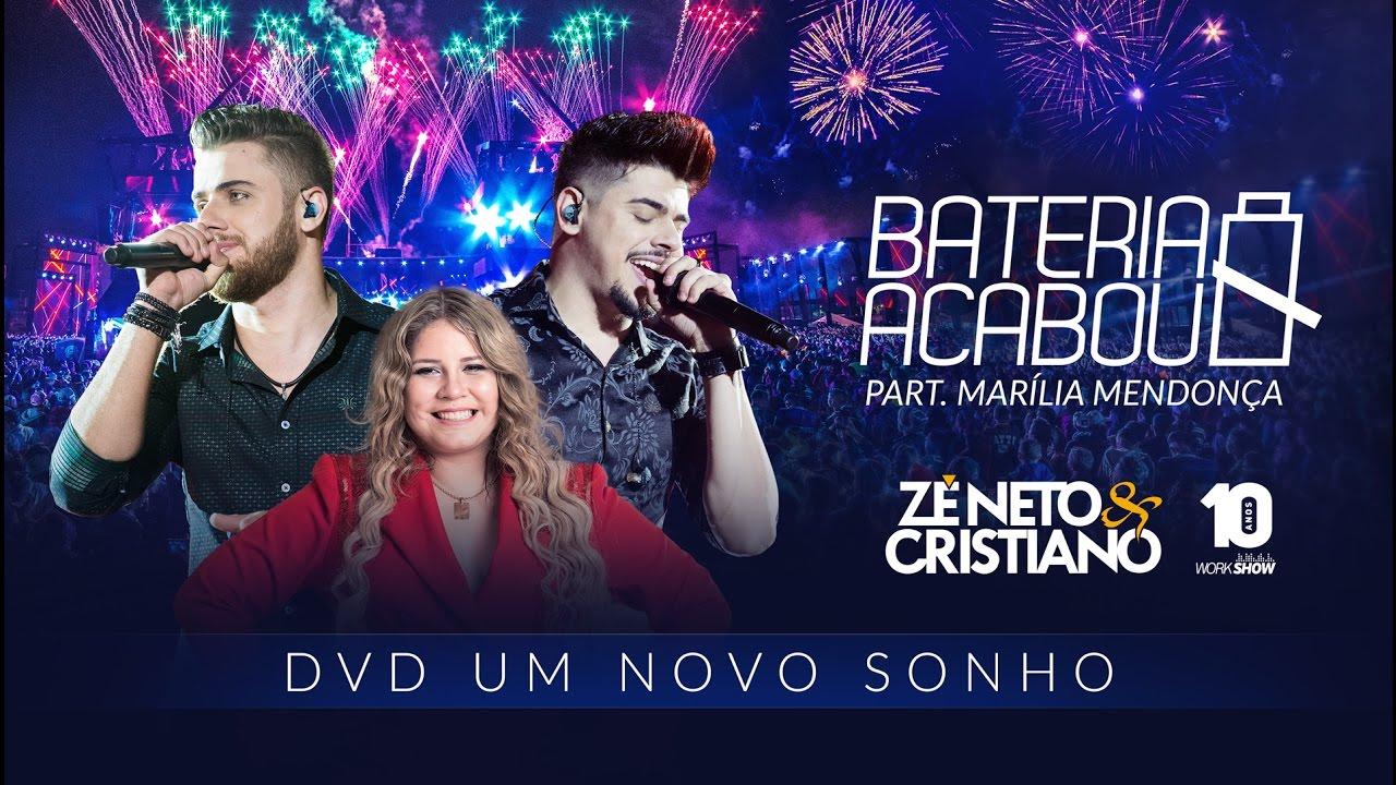 Download Zé Neto e Cristiano - BATERIA ACABOU part. Marília Mendonça - DVD Um Novo Sonho